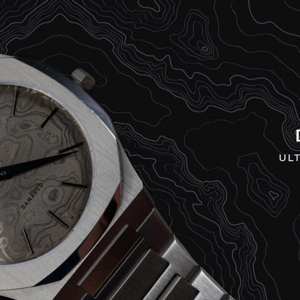 D1 Milano innove et étonne avec sa Montre Ultra Thin Damasco UTBJDM